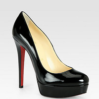 Christian Louboutin - Bianca Patent Leather Platform Pumps