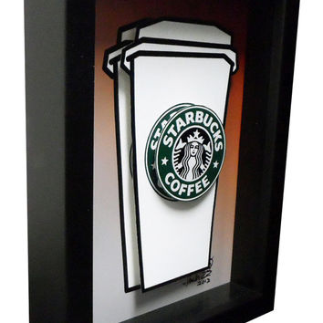 """Promotion- Pick any three 5x7"""" framed 3D pop artwork from my shop"""