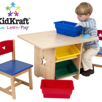 KidKraft - Star Table And Chair Set