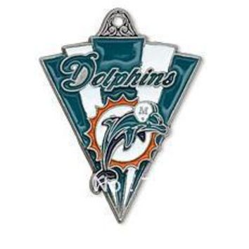 10pcs a lot  enamel antique silver plated single-sided Miami Dolphins charms jewelry accessory
