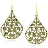 1928 Jewelry Vine Earrings