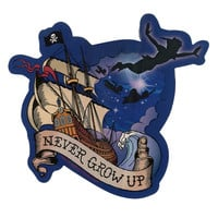 Disney Peter Pan Never Grow Up Sticker