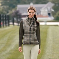 Kerrits® Cross Diagonal Quilted Vest | Dover Saddlery