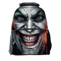 Batman Joker Avatar Personality Schoolbags Stylish and Comfortable Outdoor Street Personality Shoulder Bag = 1927915460