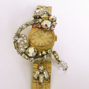 Vintage ladies Rhinestones watch Bentima