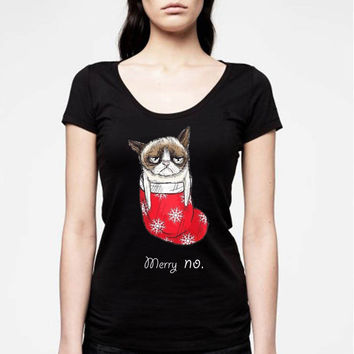 grumphy cat love chrismast for women t shirt --- size S,M,L,XL,2XL,3XL print tshirt