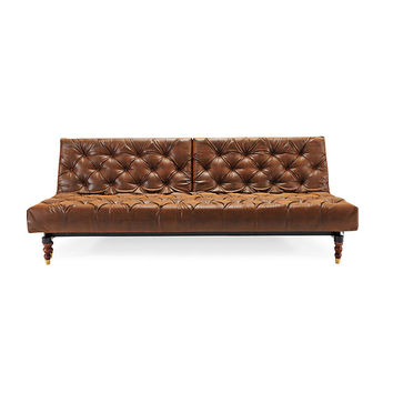 Aristocratic Sofa Bed in Brown