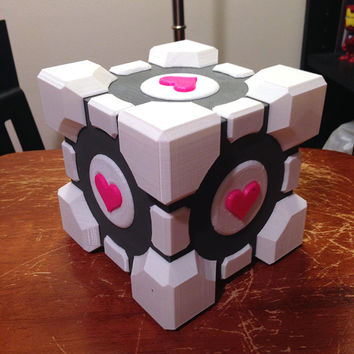 Fully 3D Printed Weighted Companion Cube