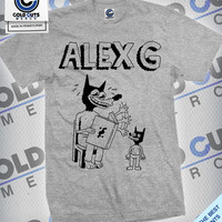 "Cold Cuts Merch - Alex G ""Reading Dog"" Shirt"