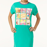 Nickelodeon X Love Tribe Juniors' Graphic T-Shirt Dress - Juniors Dresses - Macy's