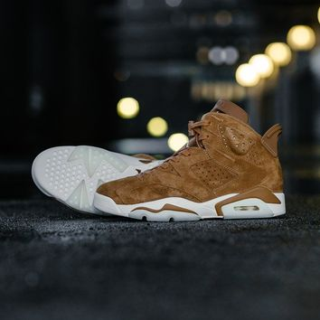 Air Jordan 6 Retro 'Wheat' 384664-705