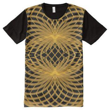 Men's American Apparel Sacred Geometry All-Over-Print T-Shirt