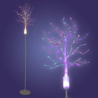 LumiSource Fiber Optic Tree Floor Lamp