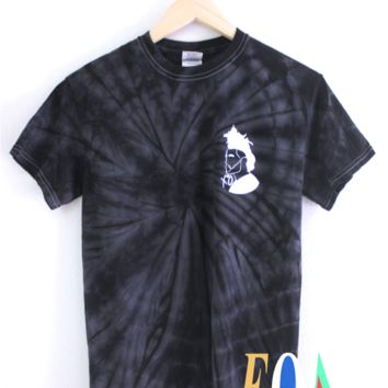 The Weeknd XO Black Tie-Dye Graphic Unisex Tee