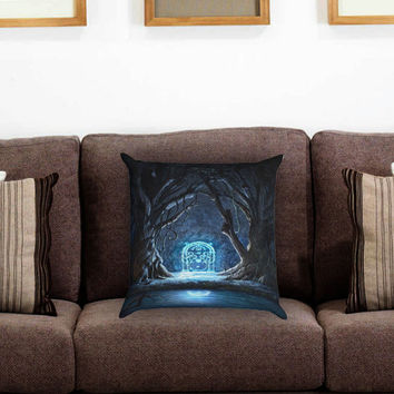 The Lord of The Rings Gates of Moria Pillow Cover , Custom Zippered Pillow Case One Side Two Sides