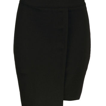 Black Skirt with Zip Back