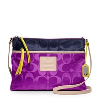 Coach :: Legacy Weekend Hippie In Signature Colorblock Nylon