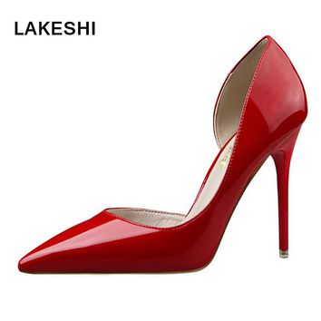 Women Pumps Fashion High Heels Shoes Women Wedding Heels Shoes Womens Summer Pumps Sexy Extreme High Heels