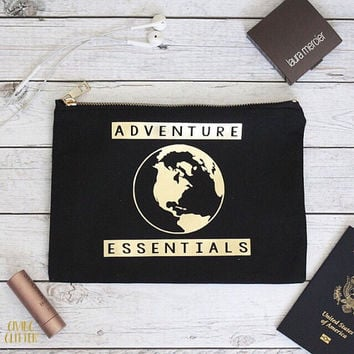 Adventure Essentials // Makeup Bag