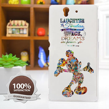 Disney Case Disney Quote Phone Case iPhone 6 / 5c / 5/5s / 4/4s, Galaxy S6, S5, S4, S3, Xperia Z,Z1,Z2 cases