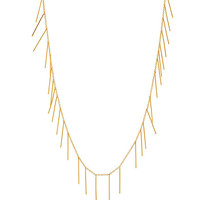 Gorjana | Marmont Fringe Gold Necklace