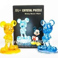 Mickey 3D crystal Puzzle