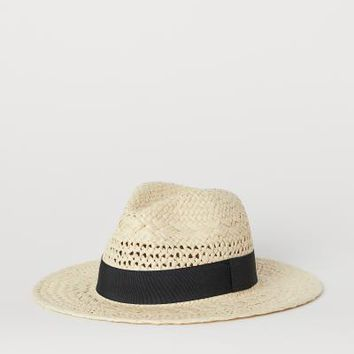 Straw Hat - Beige - Ladies | H&M US
