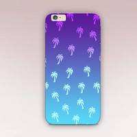 Palm Tree 90's Phone Case For - iPhone 6 Case - iPhone 5 Case - iPhone 4 Case - Samsung S4 Case - iPhone 5C -  Matte Case - Tough Case