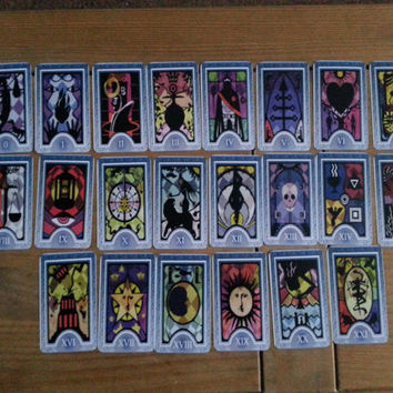 FULL DECK Persona Tarot Cards
