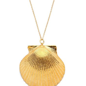 Real Scallop Shell Necklace