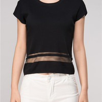 Valencia Sheer Summer Top