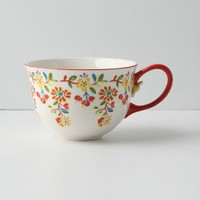 Cadiz Mug by Anthropologie Red One Size Mugs