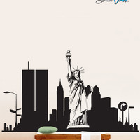 Vinyl Wall Decal Sticker New York City Statue Liberty #283