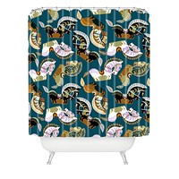 Raven Jumpo Kuda Kepang Shower Curtain