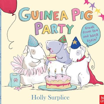 Guinea Pig Party Board book – March 6, 2014
