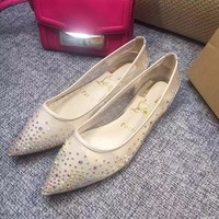 Best Online Sale Christian Louboutin CL Follies Strass Flat