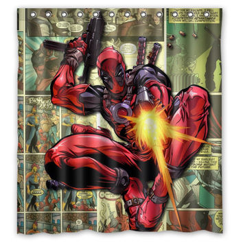 Curtains Ideas comic shower curtain : Shop Comic Shower Curtains on Wanelo