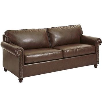 Alton Sleeper Sofa - Tobacco Brown