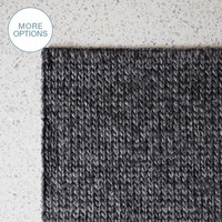 Cable Knit Hand Woven Braided Wool Rug