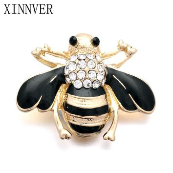 10Pcs/lot DIY Big Style 18mm bee Snap Buttons Interchangeable Jewelry Accessory Charm Snap Jewelry For Bracelet