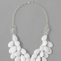 MYKONOS WATERFALL NECKLACE IN WHITE