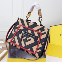 FENDI Runaway Leather Totes