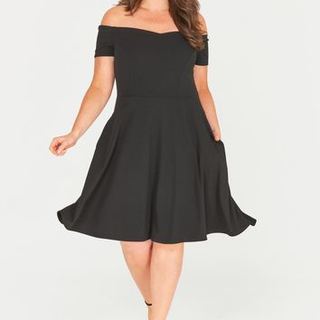 Kailyn Floral Fit & Flare Dress