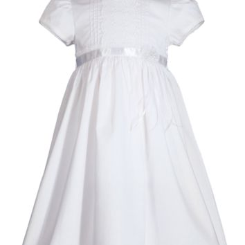 Girls lace eyelet dress