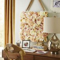 Spring Blooms Faux Flowers Wall Decor