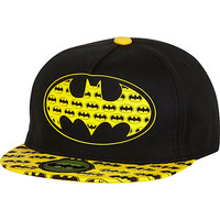 River Island Boys black Batman snapback hat