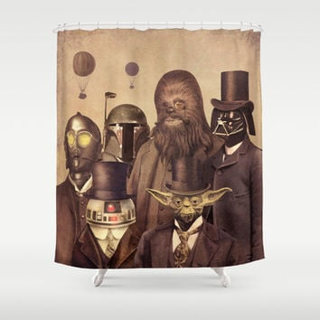 Victorian Wars Shower Curtain by Terry Fan