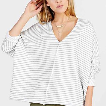 Truly Madly Deeply V-Neck Dolman-Sleeve Top-