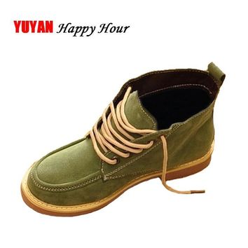 High Quality Women Snow Boots 2017 Autumn Winter Boots Lace Up Ankle Casual Brand Wint