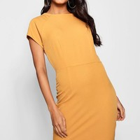 Jasmine Tailored Woven Dress | Boohoo
